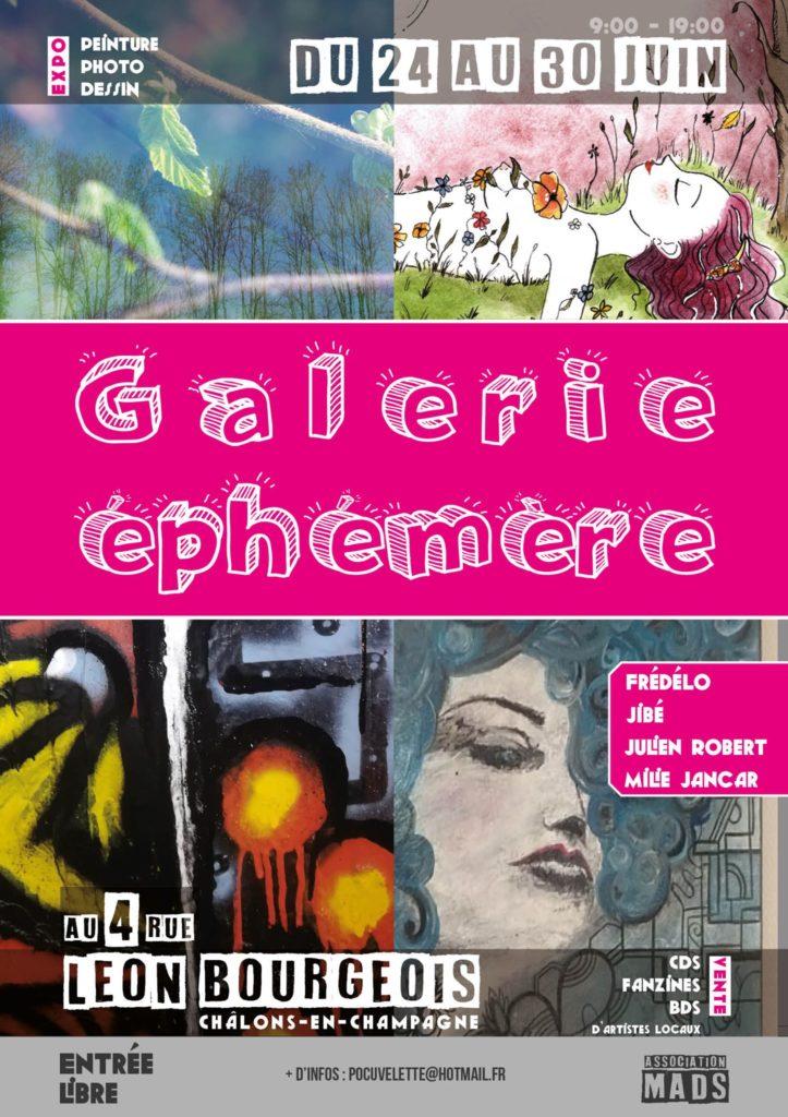 Galerie éphémère Châlons-en-Champagne 2019 Julien Robert