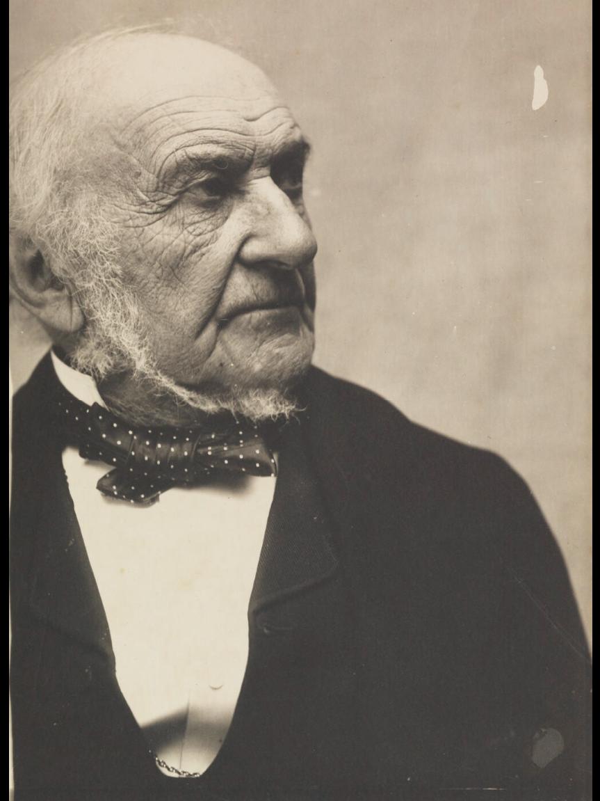 William Ewart Gladstone par Eveleen Myers. - julien et le champ des possibles