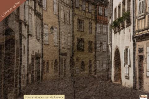 Dans les douces rues de Colmar Julien et le champ des Possibles