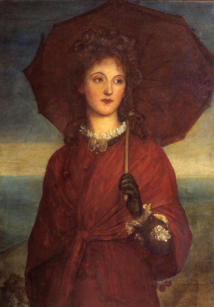 Eveleen Tennant, 1880 George Frederic Watts - julien et le champ des possibles