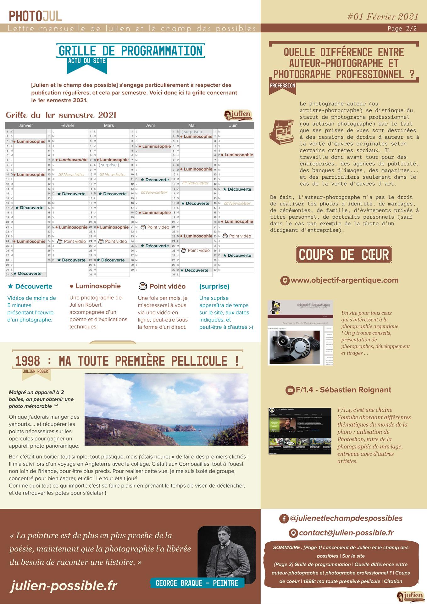 Photojul #01 - Février 2021 - Page 02 - Julien et le champ des possibles - Julien Robert photographe