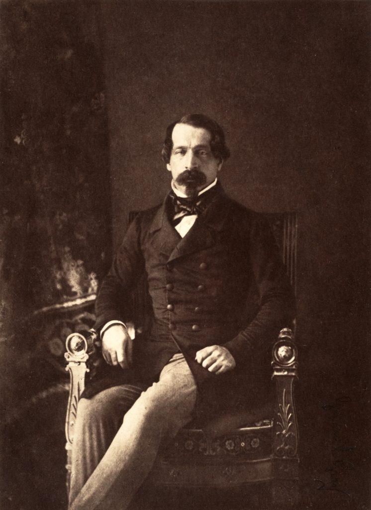 Napoléon III par Gustave Le Gray, sur Julien et le Champ des possibles, Julien Robert photographe