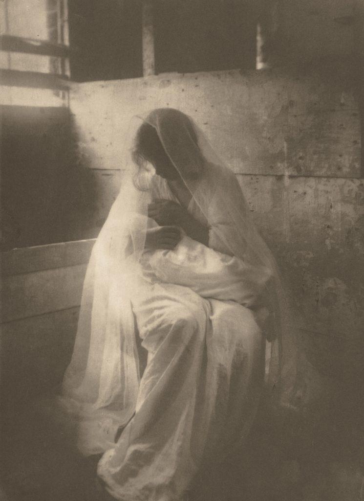 La crèche 1901, Gertrude Käsebier sur Julien et le champ des possibles, julien robert photographe