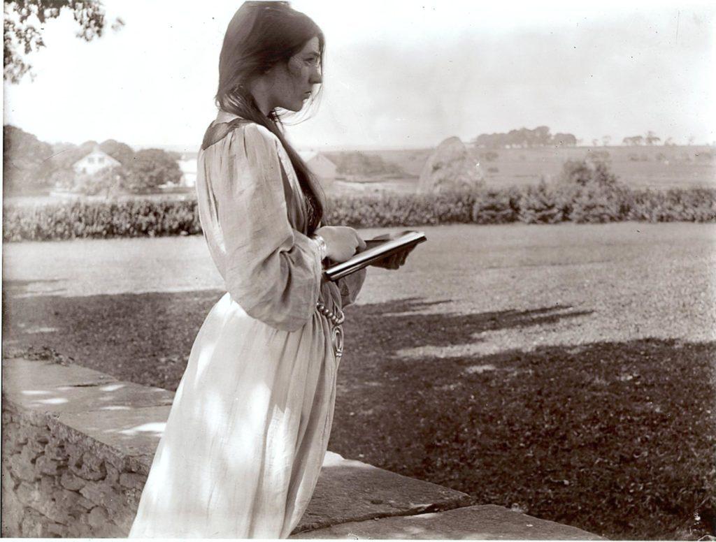 L'esquisse 1903, Beatrice Baxter Ruyl, Gertrude Käsebier sur Julien et le champ des possibles, julien robert photographe